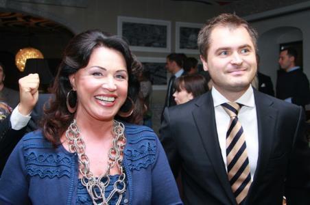 Надежда Бабкина и ее муж Евгений Гор