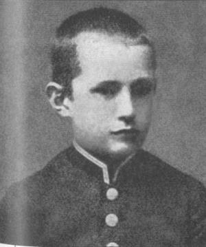 Гимназист Александр Керенский