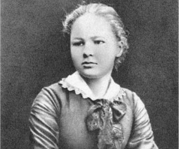 Мария Кюри-Склодовская в молодости