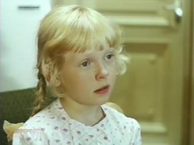 Рита Сергеечева в детстве