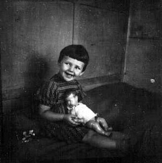 Лида Козлова в детстве