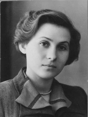 Лидия Козлова в молодости