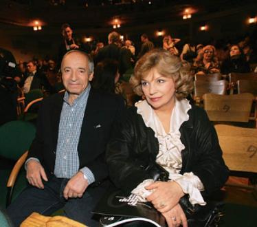 Ольга Остроумова и Валентин Гафт