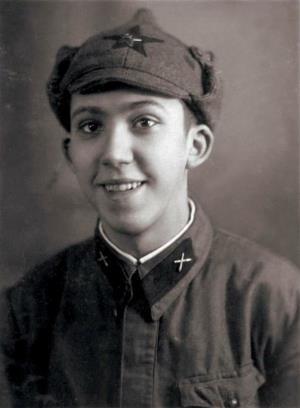 Юрий Никулин в армии, 1939 год