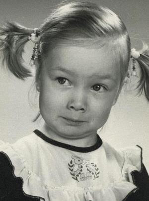 Даша Мороз в детстве