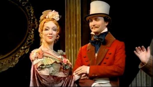 Дарья Мороз на театральной сцене