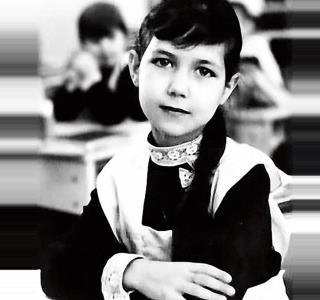 Катя Климова в детстве