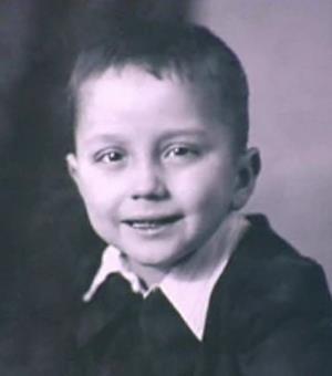 Саша Масляков (старший) в детстве