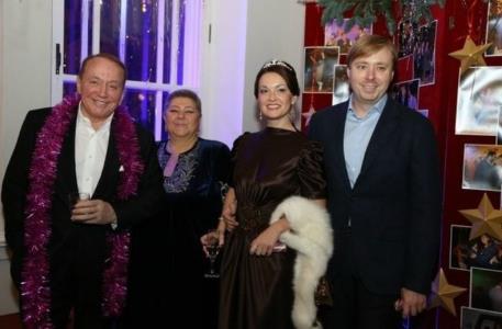 Александр Масляков с семьей