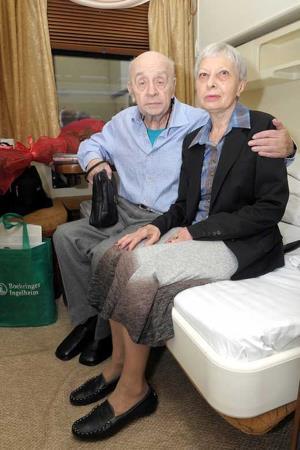 Леонид Броневой с супругой Викторией Валентиновной