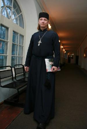 Священник, актер и сценарист Иван Охлобыстин (отец Иоанн)