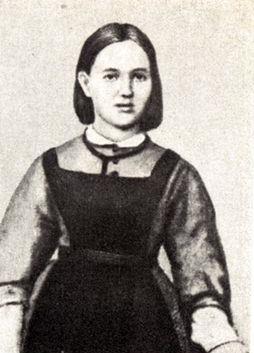 Софья Ковалевская в молодости