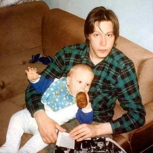 Бывший муж Михаил Ефремов с сыном Никитой