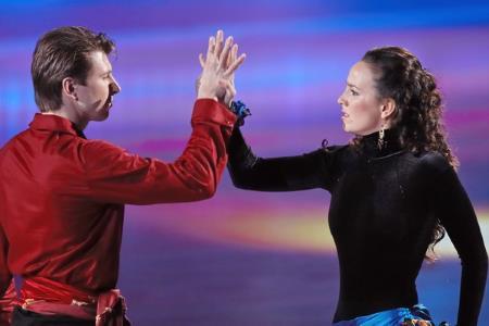 Валерия Ланская и Алексей Ягудин