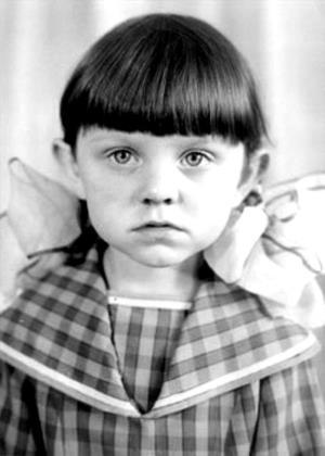 Валя Рубцова в детстве