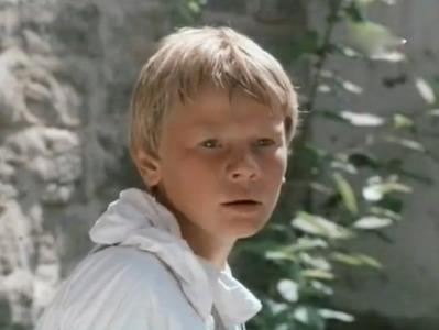 Владислав Галкин в детстве
