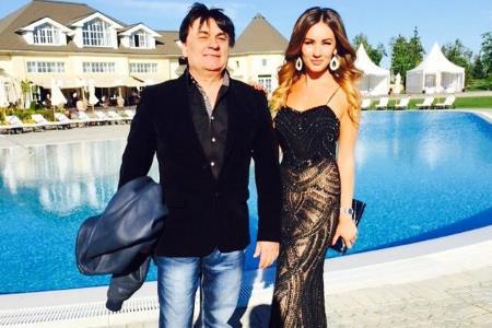 Александр Серов и дочь Мишель