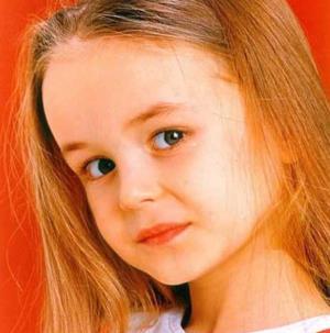 Полина Гагарина в детстве