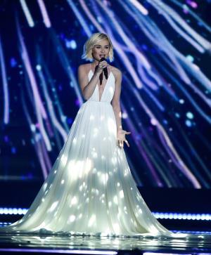 Полина Гагарина на конкурсе Евровидении 2015 г.