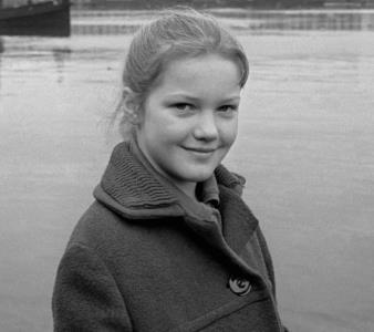 Лена Проклова в детстве