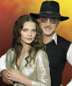 Лиза с отцом Михаилом Боярским
