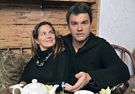 Евгений Дятлов и Юлия Джербинова