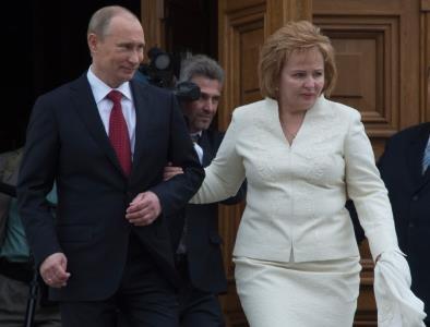Владимир Путин и Людмила Шкребнева