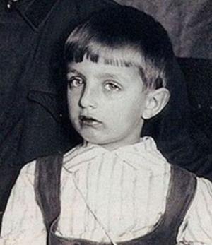 Игорь Дмитриев в детстве