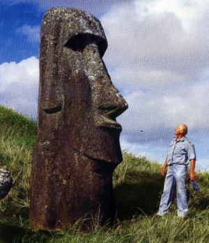 Статуями острова Пасхи ученый был очарован