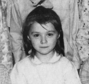 Алена Апина в детстве