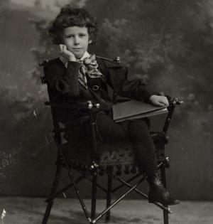 Сережа Эйзенштейн в детстве
