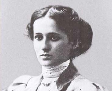 Анна Ахматова в молодости