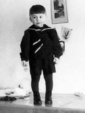 Валера Леонтьев в детстве