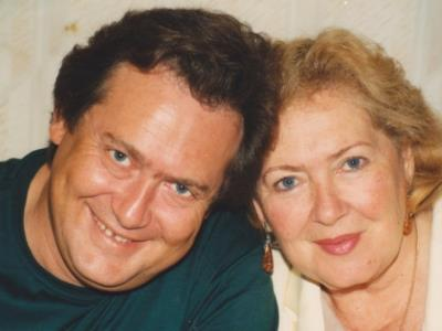 Юрий Стоянов с мамой Евгенией Леонидовной