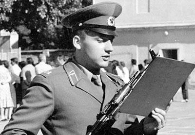 Стас Михайлов в Армии во время присяги