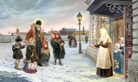 Иоанн опекал сирот и детей из бедных семей.