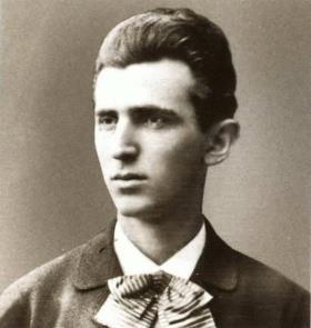 Никола Тесла в юности