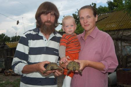 Федор Конюхов с семьей