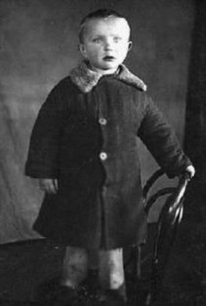 Гена Зюганов в детстве