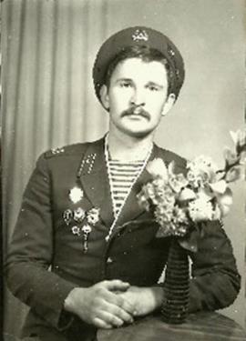 Федор Добронравов в армии