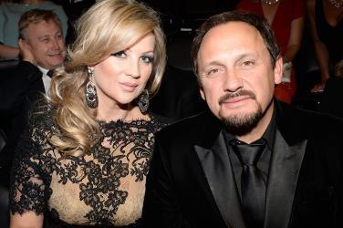 Певец Стас Михайлов с женой Инной Канчельскис