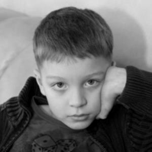 Кирилл Сафонов в детстве