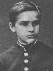 Симон Петлюра в детстве