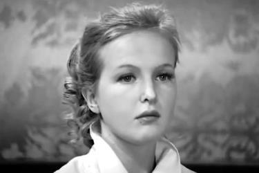 Елена Соловей в молодости