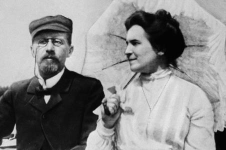 Антон Чехов и Ольга Книппер Чехова