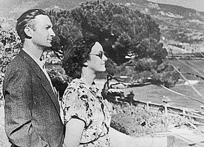 Георгий Вицин с женой Тамарой Федоровной