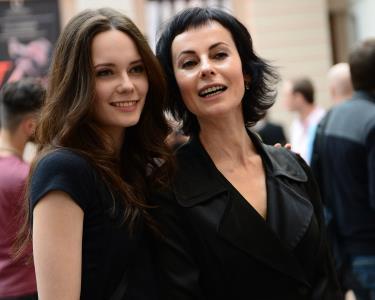 Ирина Апексимова и ее дочь Дарья
