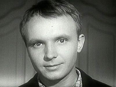 Андрей Мягков в молодости