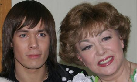 Эдита Пьеха и ее внук Стас Пьеха