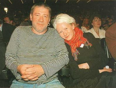 Андрей Краско с женой Светланой